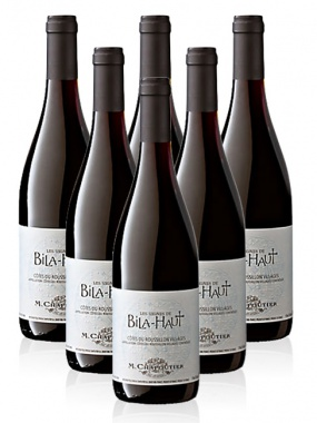 M.Chapoutier Domaine Bila-Haut Les Vignes de Bila-Haut Rouge 6x75cl