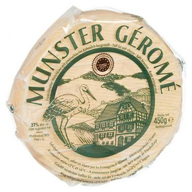 Munster Gerome Französischer Weichkäse 50%, 450g