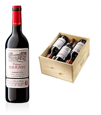 Chateau Bréjou Bordeaux Rotwein AOC - 6 Flaschen in Origina