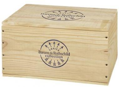 Barons de Rothschild Lafite  6 x 0,75 in Orignal-Holzkiste
