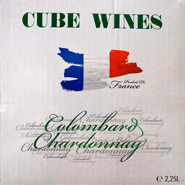 CUBE WINES Colombard Chardonnay France 11,5% vol. 2,25l