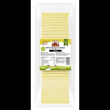 Wilmersburger Vegane Käsescheiben Classic 22 % Fett 500 g Packung