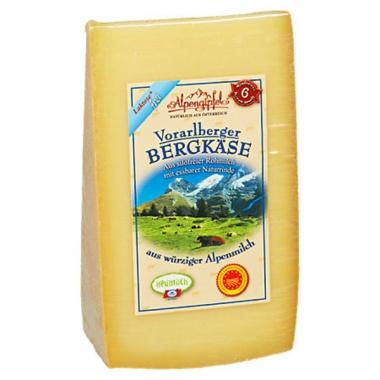 Alpengipfel Vorarlberger Bergkäse 45%  ca.0,35kg