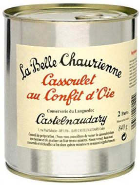 Cassoulet au Confit d''Oie, Bohneneintopf mit Gans, La Belle Chaurienne 840 g