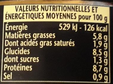 Saucisses au canard lentilles - William Saurin - 840 g