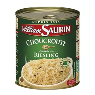 William Saurin - Sauerkraut Au Riesling 1 x 810 G