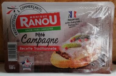 Original französische Pastete - de CHAMPAGNE traditionelle- 2 x188gr