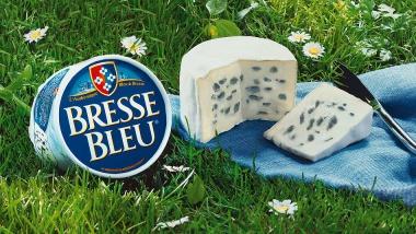 Bresse Bleu Blauschimmelkäse französischer Weichkäse 300g
