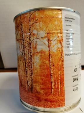 Waldschatz Pfifferlinge unsortiert Waldfrisch 850 ml Dose
