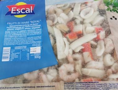Escal Frutti di Mare Royal tiefgefroren - 900 g Packung