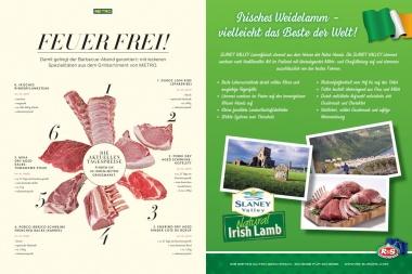 Irisches Weide - Lammhaxen  frisch, vak.verpackt, geküklt- ca 1,0kg