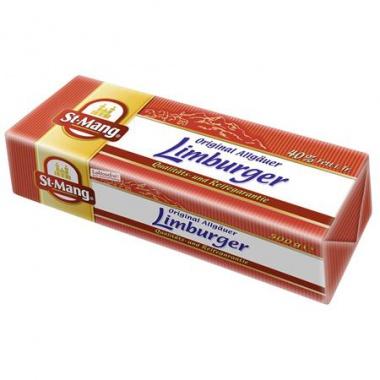 St. Mang Limburger Stange deutscher Weichkäse, 40 % Fett i. Tr.