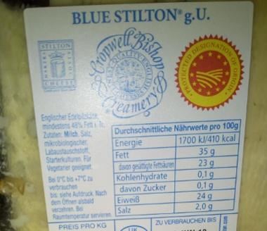 Stilton Blue Original - Käse aus England 150 g