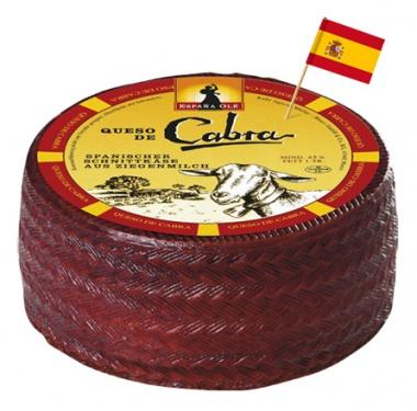 Queso die Capra spanischer Ziegenkäse, 45 % fett ca. 1 kg Stück