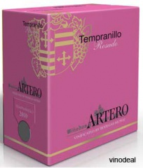 1Artero Tempranillo Rosado DO trocken Spanien (Wine in Bag), 5L