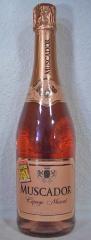12Fl. Sekt, 0.75l, Muscador Cépage Muscat, Doux, Rosé