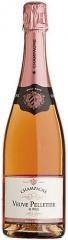 Champagne Brut Rosé Veuve Pelletier 6 x 75 CL