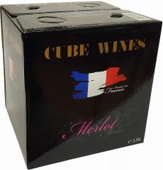 CUBE WINES Merlot France 11,5% vol. 2,25l