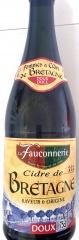 Cidre de Bretagne Doux La Fauconnerie Apfelwein Frankreich 6 x 0,75l