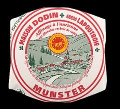 Dodin Munster AOP 500 g französischer Weichkäse 50%