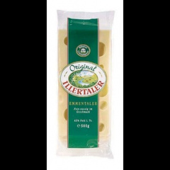 Illertaler Hartkäse (Emmentaler)45 % Fett 500 g Packung