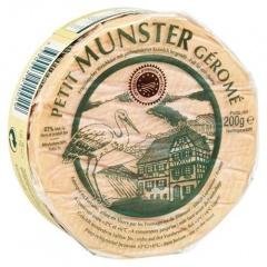 Petit Munster Géromé französischer Weichkäse aus pasteurisierter Kuhmilch, 50 % Fett 200 g