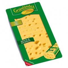 Grünländer Schnittkäse Mild & Nussig Natur - 500 g Packung