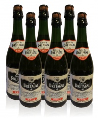Cidre de Bretagne brut trocken Apfelwein Frankreich 6 x 0,75l