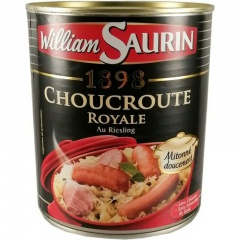 William Saurin Choucroute Royale au Riesling 800gr
