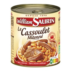 Le Cassoulet Mitonné (840g) -