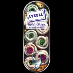 Lysell Teufelsröllchen mit Peperoni scharf würzig, 125 g