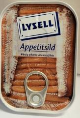 Appetitsild: Würzig pikante Anchovisfilets 90gr Dose