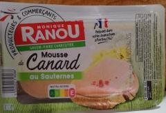 Original französische Pastete -Mousse Canard (Ente)- 2 x 188gr