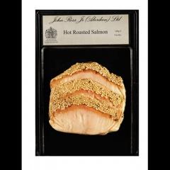 John Ross Jr Schottischer Räucherlachs mit Honig & Senf heiß geräuchert 160 g Packung