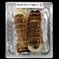 Langustenschwänze 2 Stück tiefgefroren roh - 1 x 500 g Packung