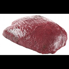 Hirsch-Oberschale tiefgefroren, aus Neuseeland, vak.-verpackt ca. 1,1kg