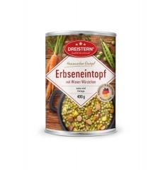 Dreistern Hausmacher Erbseneintopf + Wiener Würstchen 400gr Dose