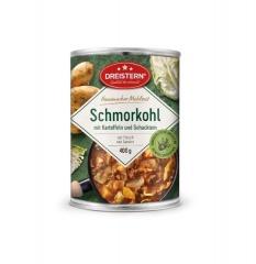 Dreistern Hausmachermahlzeit Schmorkohl mit Kartoffeln+Gehacktem 400gr Dose