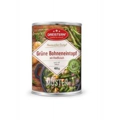 Dreistern Hausmacher Grüne Bohneneintopf mit Rindfleisch 400gr Dose