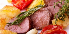 Hirsch-Filet TK ca 1,0 kg, tiefgefroren ( Filet mignon de cerf )