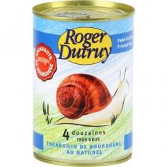 Wilde Burgunderschnecken von Roger Dutruy Depuis 1868 (4 Dutzend)  425ml