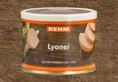 Hausmacher Lyoner 200gr Ringpull-Dose mit wiederverschließbaren Plastikdeckel