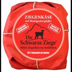 3x180gr Andalusischer Ziegenkäse (Schwarze Ziege)mit Affinationen, Madagasskarpfeffer,Kräuter+Natur