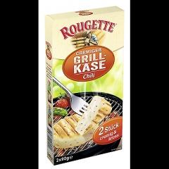 Rougette Grillkäse Chili gekühlt, 55 % Fett i.Tr. 4 Stück à 90 g - 360 g