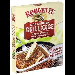 Rougette Marinierter Grillkäse Paprka Kräuter 55 % Fett - 2 x 180 g Schachtel