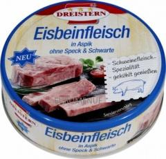 Dreistern Eisbeinfleisch in Aspik ohne Speck & Schwarte 4x200g