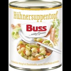 Buss Hühnersuppen-Eintopf - 4x800 ml Dose