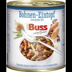 Buss Texas-Bohnen-Eintopf - 4x800 ml Dose
