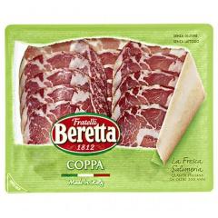Beretta Coppa Parma geschnitten Salami aus Italien, geschnitten