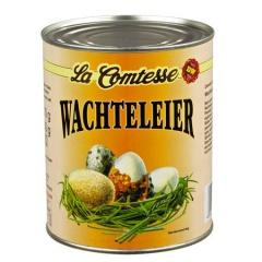 La Comtesse Wachteleier aus Bodenhaltung gesch?¤lt 850 ml Dose